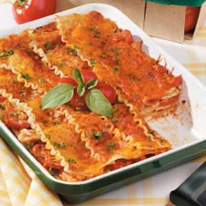 Creamy Chicken Lasagna Recipe
