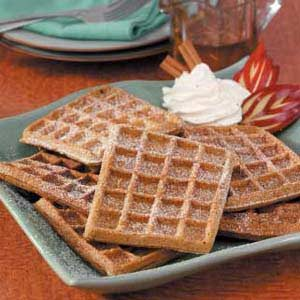 Gingerbread Buttermilk Waffles Recipe
