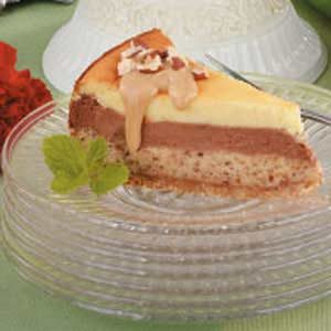 Layered Hazelnut Cheesecake Recipe