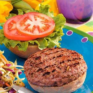 Hearty Backyard Burgers Recipe