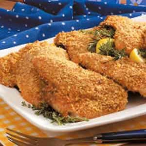 Crispy Oven-Baked Chicken Recipe