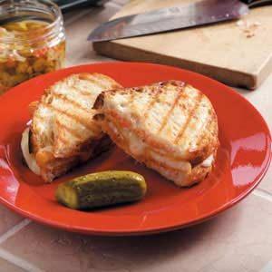 Garden Chicken Panini Recipe