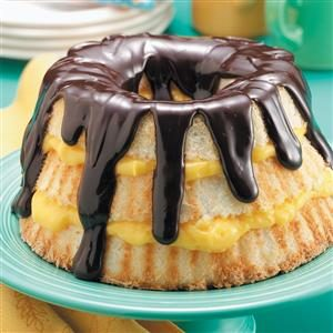 Boston Cream Angel Cake Recipe