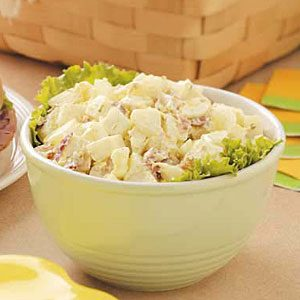 Contest-Winning Tangy Potato Salad Recipe