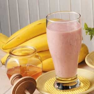 Banana Strawberry Smoothies