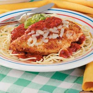 Basic Chicken Parmigiana Recipe
