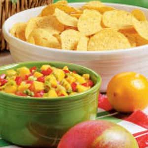 Minty Mango Salsa Recipe