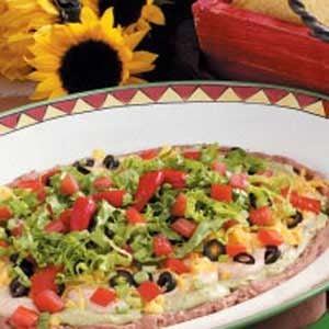 Southwestern Taco Bean Dip Recipe