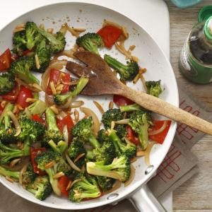 Almond Vegetable Stir-Fry Recipe
