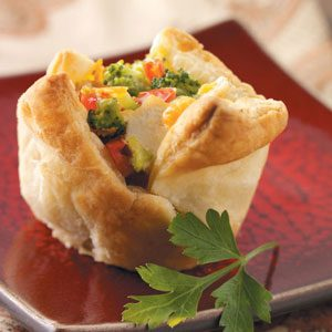 Chicken and Broccoli Cups Recipe