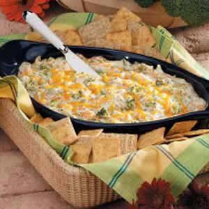 Warm Broccoli Cheese Spread Recipe