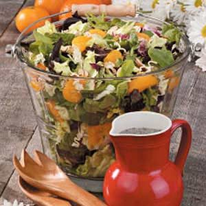 Poppy Seed Tossed Salad Recipe
