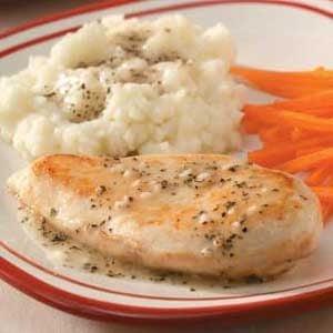 Garlic Chicken 'n' Gravy Recipe