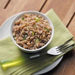 Bulgur with Pine Nuts Recipe