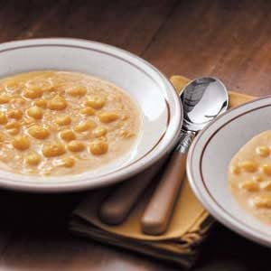 Squash Hominy Soup Recipe