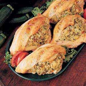 Squash-Stuffed Chicken Recipe