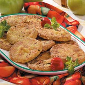 Zesty Fried Green Tomatoes Recipe