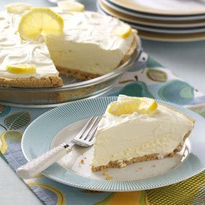 Lemonade Icebox Pie Recipe
