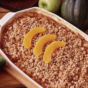Butternut Apple Crisp Recipe