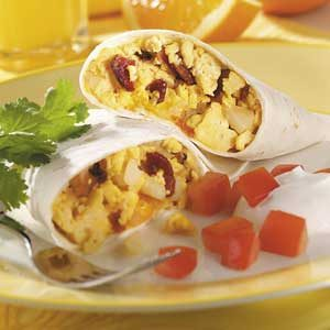 Bacon 'n' Egg Burritos Recipe