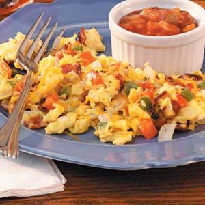 Fiesta Scrambled Eggs Recipe