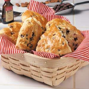 Almond Chip Scones Recipe