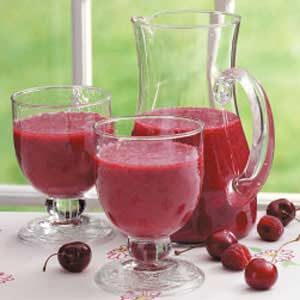 Cherry Fruit Smoothies Recipe