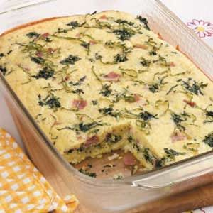 Florentine Egg Bake Recipe