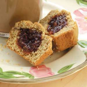 Peanut Butter 'n' Jelly Muffins Recipe