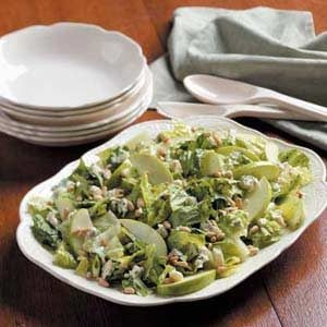 Blue Cheese Romaine  Salad Recipe