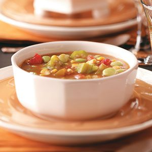 Lima Bean Okra  Soup Recipe