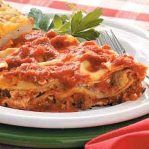 Saucy Skillet Lasagna Recipe