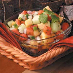 Summer Melon Salsa Recipe