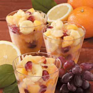 Frozen Fruit Salad Slush Recipe