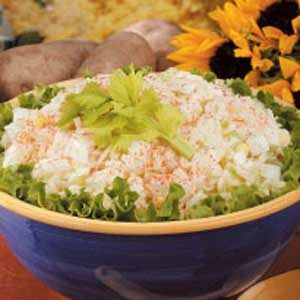 Grated Potato Salad Recipe