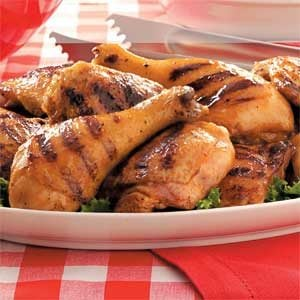 Grilled Thighs and Drumsticks Recipe