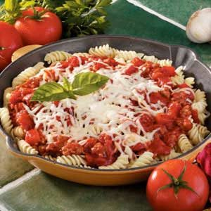 Italian Skillet Supper Recipe
