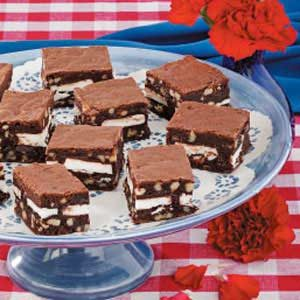 Peppermint Patties Brownies