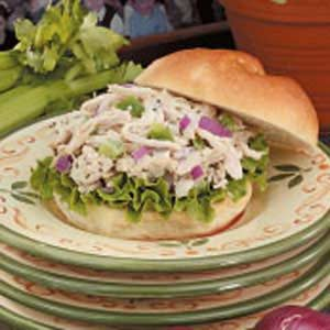 Flavorful Chicken Salad Sandwiches