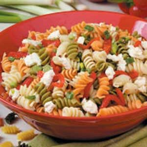 Roasted Pepper Pasta Salad Recipe