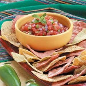 10 Minute Zesty Salsa Recipe