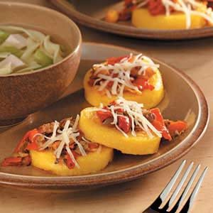 Bruschetta Polenta Recipe