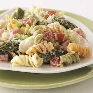 Chicken Caesar Pasta Toss Recipe