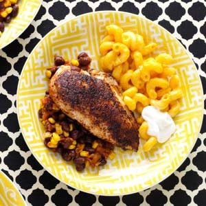 Blackened Chicken and Beans Recipe