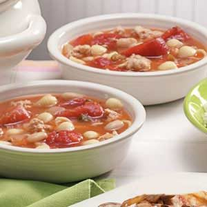 Turkey Pasta Soup Recipe