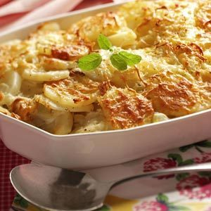 Fennel-Potato Au Gratin Recipe