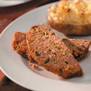 Terrific Turkey Meat Loaf Recipe