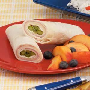 Asparagus Ham Wraps Recipe
