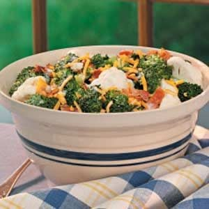 Crunchy Floret Salad Recipe