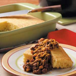 Corn Bread Sloppy Joes